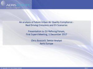 AERIS presentation for EU Refining Forum - Concawe